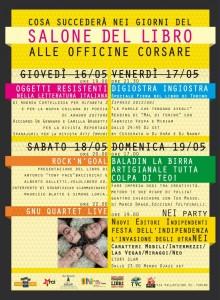 Locandina eventi @ Officine Corsare - Salone Off