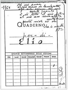 """Lanteri Adriana a Elio 1961 dal n. 85 de """"La Riviera Ligure"""""""